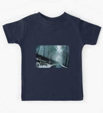 0233  Into a cold dark place   [e] Kids Tee