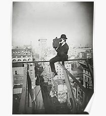 Póster Photographing NYC Above 5th Avenue (1905)