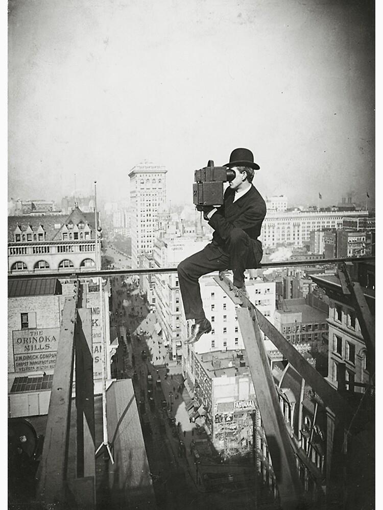Photographing NYC Above 5th Avenue (1905) de BravuraMedia