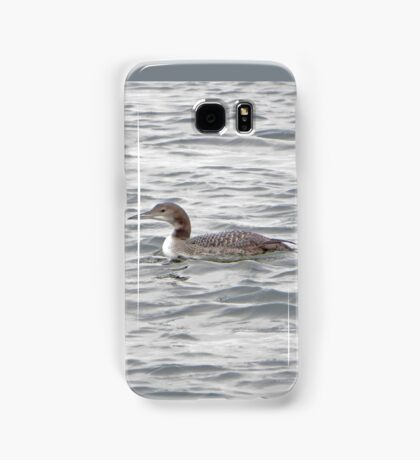 A Loon of Wisconsin Samsung Galaxy Case/Skin