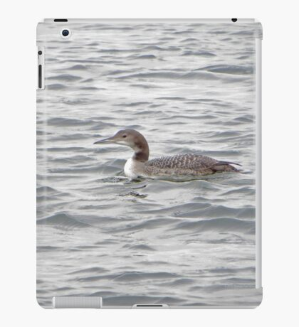 A Loon of Wisconsin iPad Case/Skin