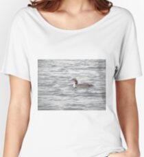 A Loon of Wisconsin Women's Relaxed Fit T-Shirt