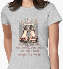 Conquer the World - Girl Style T-Shirt