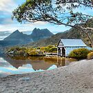 Cradle Mountain from the Boathouse HDR by Paul Campbell  Photography