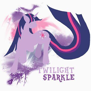 Twilight Sparkle Silhouette Shirt by jewlecho