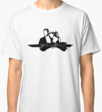 Outlined Fred and Ginger Classic T-Shirt