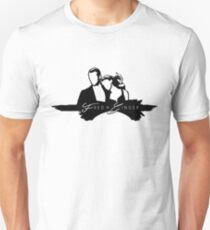 Outlined Fred and Ginger Unisex T-Shirt