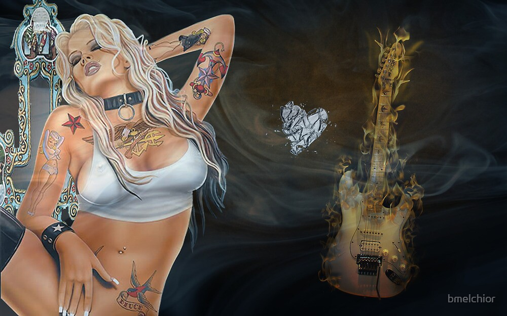 Tattooed Dancer - Dance For Me Bitch by bmelchior