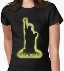 New York Vintage T-Shirt Womens Fitted T-Shirt