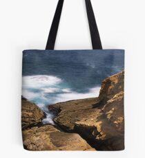 """""""Don't look down!"""" ∞ Bermagui, NSW - Australia Tote Bag"""
