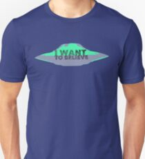 I Want To Believe (UFO II) T-Shirt