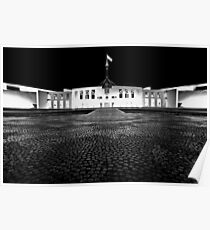 Parliament at night Poster