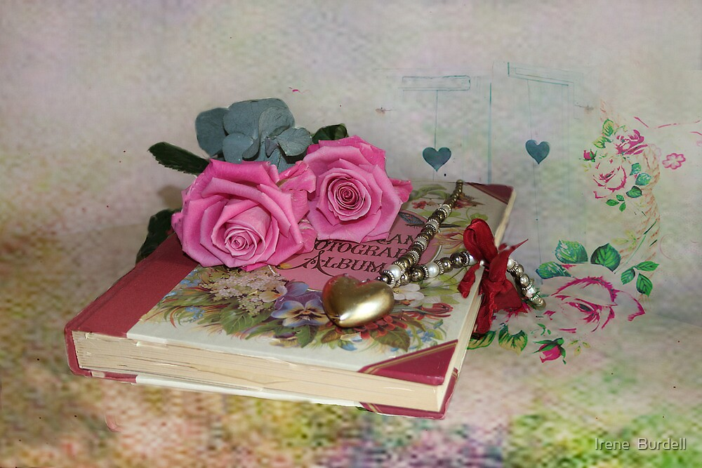 Hearts and Flowers  by Irene  Burdell