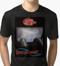 Lightning Racer! Tri-blend T-Shirt
