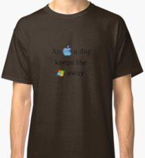 Apple Vs. Windows Classic T-Shirt