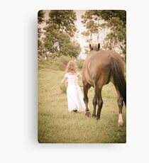 So they went... Canvas Print