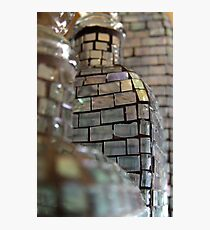 Mosaic Glass Decanter Photographic Print