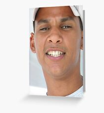 Dominican guide Greeting Card