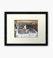 Jack the Mac from Krugersdorp, Gauteng, South Africa Framed Print