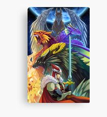 The Dragonmaster Canvas Print