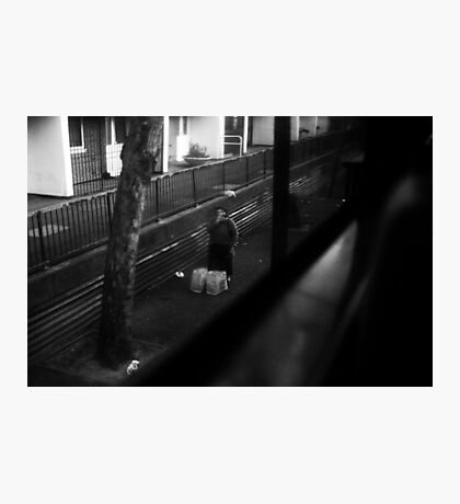 LONDON: VIEWS FROM THE TOP DECK PT 12: CIGARETTE BREAK Photographic Print