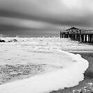 Ocean Grove Fishing Pier by Debra Fedchin