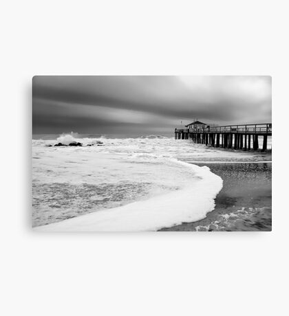 Ocean Grove Fishing Pier Canvas Print