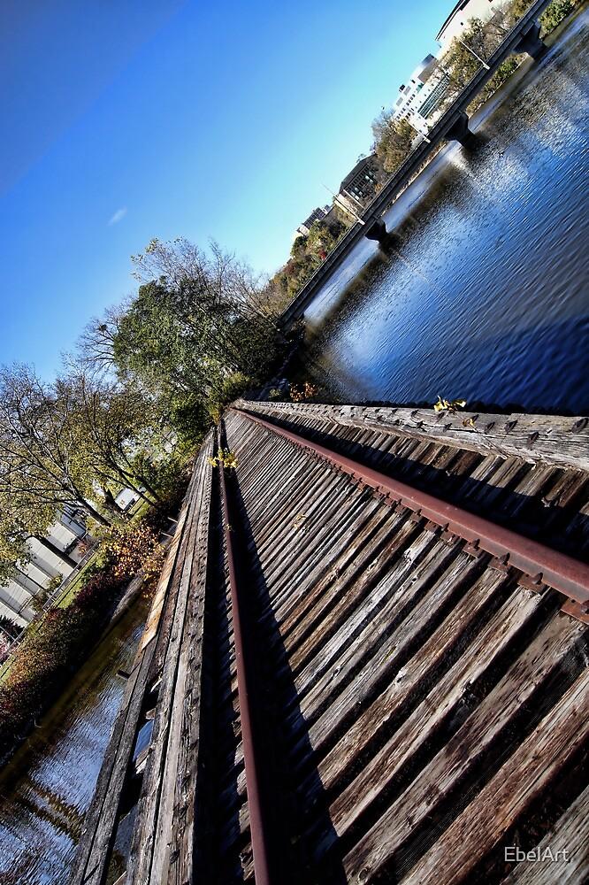 Tilted Tracks by EbelArt