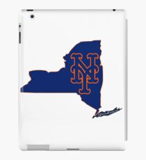 Mets Over Yankees iPad Case/Skin