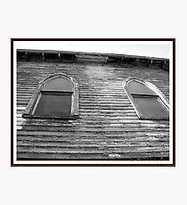 Rough Hewn Photographic Print