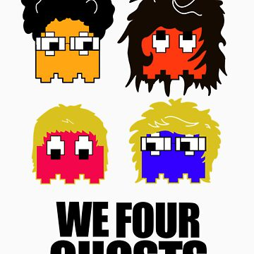 We Four Ghosts by axlhudson101