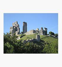 Corfe Castle (3), Dorset, England Photographic Print