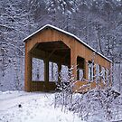 "Snowy Covered Bridge by Christine ""Xine"" Segalas"