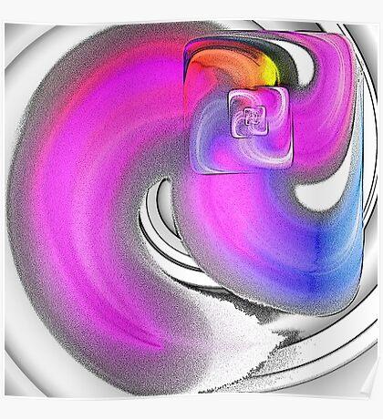 Shape / Colours Poster