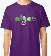 Literate Microscopic Algae Classic T-Shirt