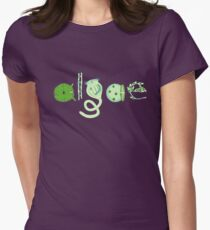 Literate Microscopic Algae Women's Fitted T-Shirt