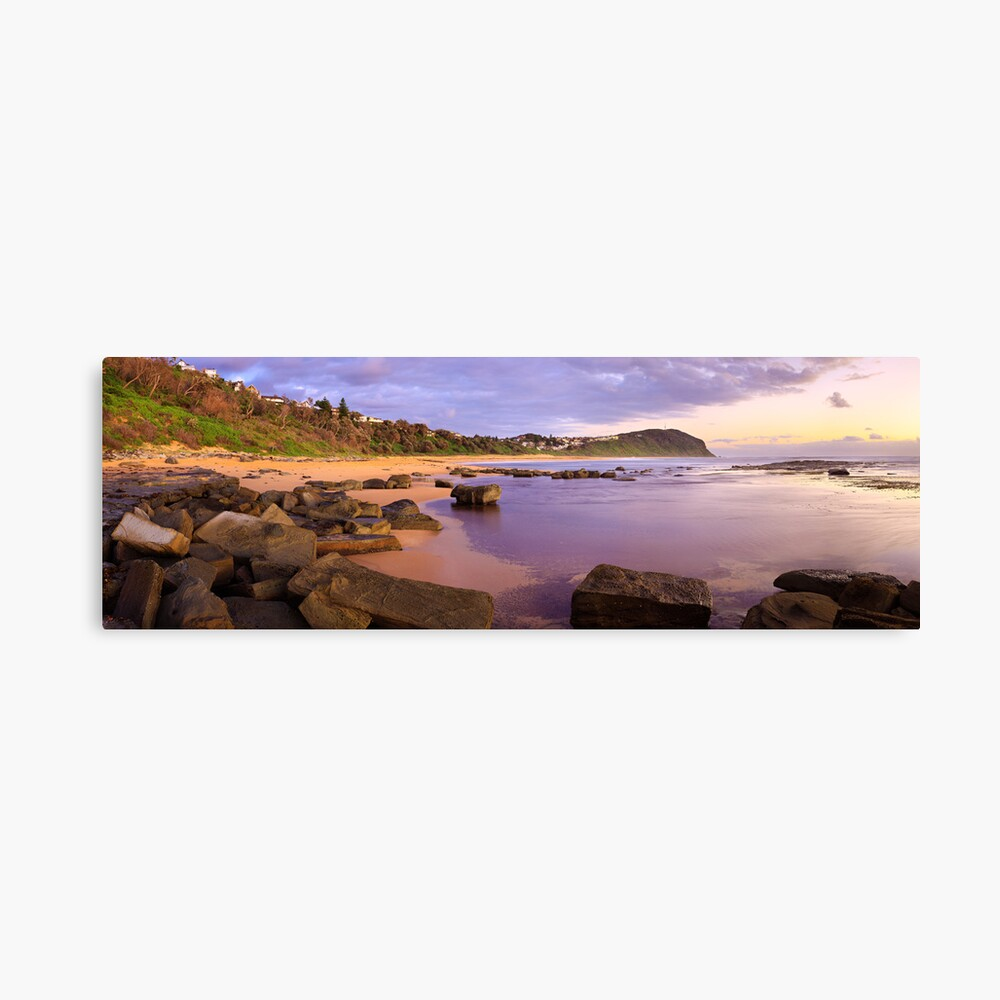 Forresters Beach Dawn, New South Wales, Australia Canvas Print