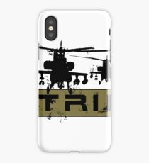 AH-64 Apache Helicopters Air Strike iPhone Case/Skin
