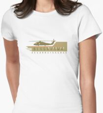 Black Hawk Helicopter Women's Fitted T-Shirt
