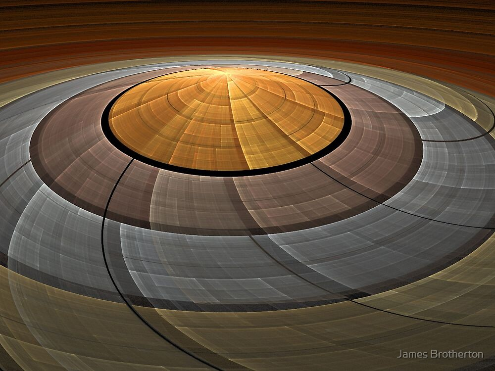Flying Saucer by James Brotherton