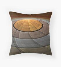 Flying Saucer Throw Pillow