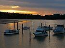 Sunset over the Waitangi River.........! by Roy  Massicks