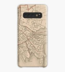 Vintage Map of Salem Massachusetts (1891) Case/Skin for Samsung Galaxy