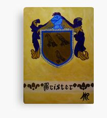 Brister - Coat of Arms Canvas Print