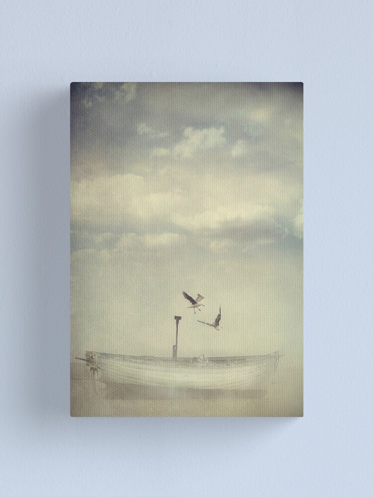 Alternate view of Flight Canvas Print