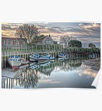 Blakeney Quay, North Norfolk coast Poster
