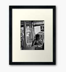Cafe Gem Framed Print
