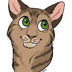 Jackie the Cat - Custom by Dany Gonzalez
