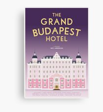 The Grand Budapest Hotel film poster Canvas Print