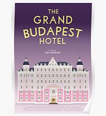 The Grand Budapest Hotel film poster Poster